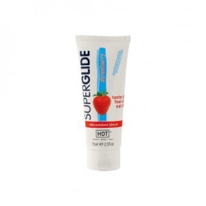 Hot Superglide Lubricante Comestible Fresa