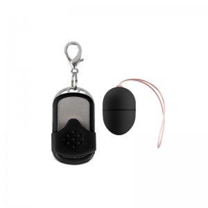 Huevo Vibrador 10 Velocidades Control Remoto Negro Pequeño