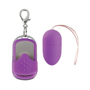 Huevo Vibrador 10 Velocidades Control Remoto Violeta Mediano