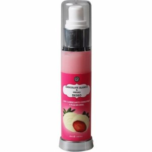 Lubricante Comestible Choco Blanco y Fresa 50 ml