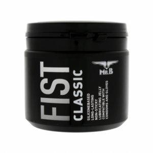 Mister B Fist Lubricante Silicona Clásico 500 ml