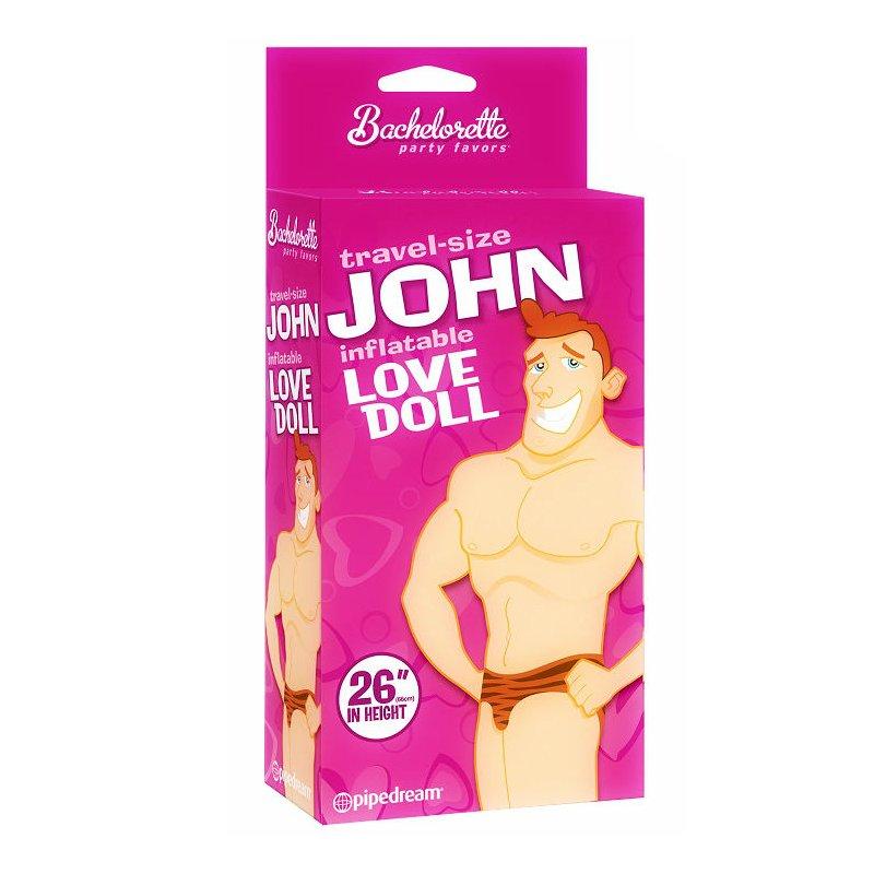 Muñeco Hinchable Tamaño Viaje John Amor