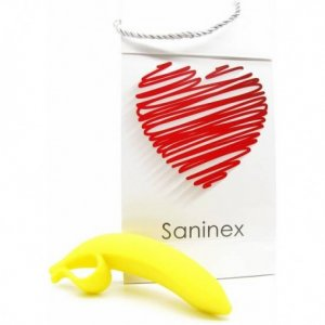 Saninex dildo Banana Orgasmic Fantasy Color Amarillo