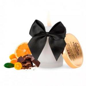 Vela de Masaje Comestible de Chocolate Negro