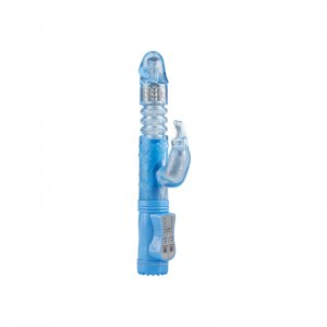 Vibrador Poke Me Up and Down Conejito Vibrador Azul