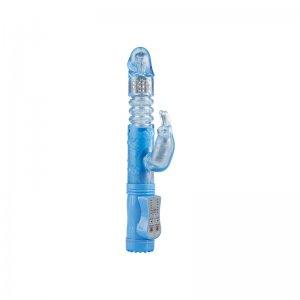 Vibrador Poke Me Up and Down Conejito Vibrador Azul